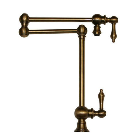 Deck Mount Double Jointed Traditional Pot Filler MSRP: $1,295.00-$1,395.00