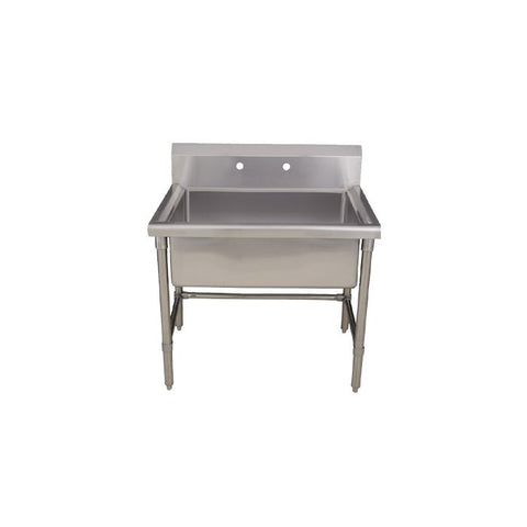 Stainless Steel Laundry Sink with Adjustable Legs