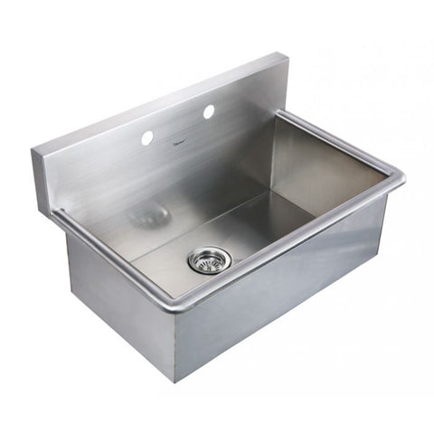 "31"" Noah Stainless Steel Laundry / Utility Sink"