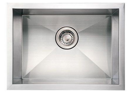 "20"" Stainless Steel Single Undermount Kitchen Sink"