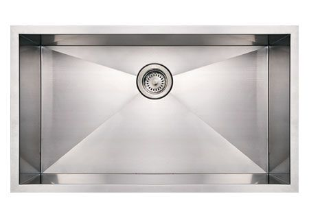"32"" Stainless Steel Single Undermount Kitchen Sink"
