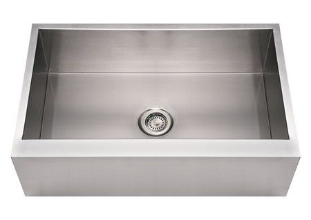 "33"" Stainless Steel Single Bowl Apron Front Kitchen Sink"
