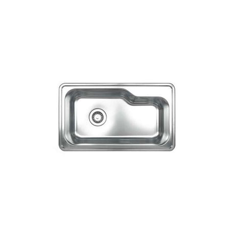 Stainless Steel 30'' Single Bowl Drop In Kitchen Sink MSRP: $1,020.00-$1120