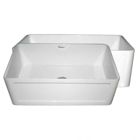 "Farmhaus Fireclay Reversible 27"" Sink with Front Apron"