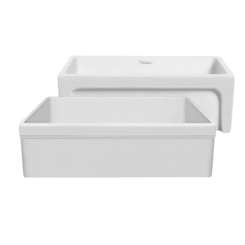 "30"" Glencove Reversible Matte Fireclay Kitchen Sink"