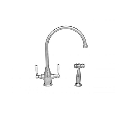 Queenhaus Dual Handle Faucet with Side Spray