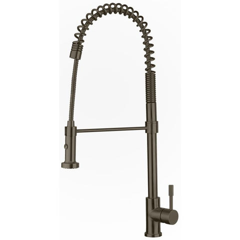 Waterhaus Commercial Single-Hole Faucet with Flexible Pull-Down Spray Head