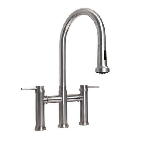 Waterhaus Lead-Free Stainless Steel Bridge Faucet