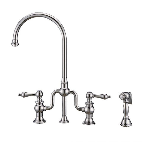 Twisthaus Plus Bridge Faucet