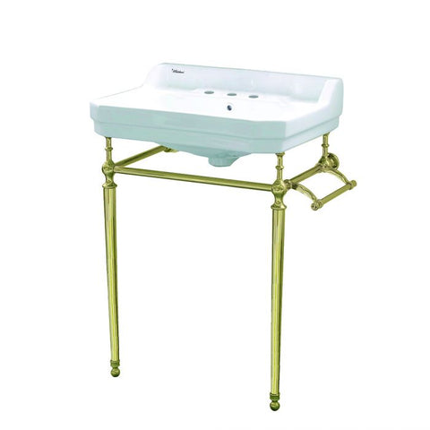 Three Holes Console Sink With Leg Support MSRP: $1,299.00-$1399.00