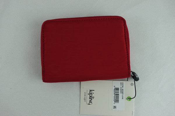 Cartera Kipling Money Love Rojo