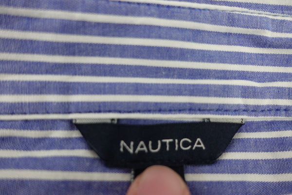 Blusa Nautica Mujer Stripe Popover Weekend Shirt