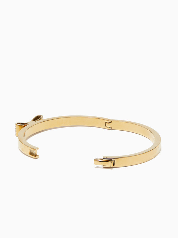 Pulsera Kate Spade Ready Set Bow Pave Bow Bangle