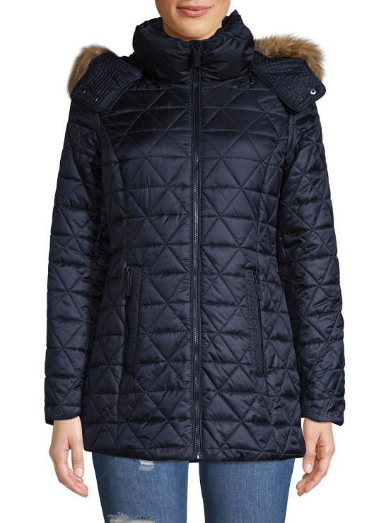 Abrigo Marc New York Quilted Parka Original
