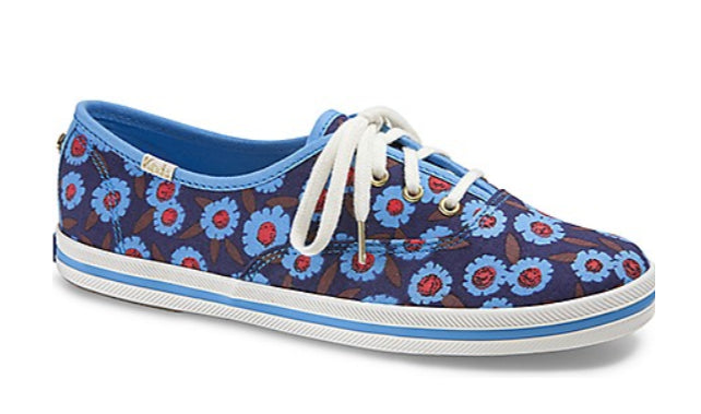 Tennis Keds X Kate Spade New York Peacock 24.5 mx OFERTA!