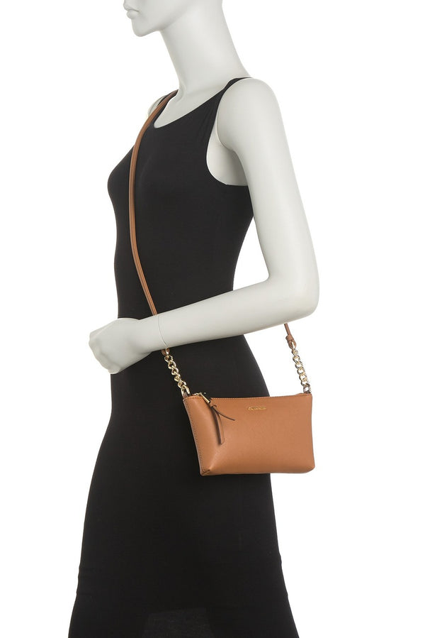 Bolsa Calvin Klein Hayden Saffiano Leather Cafe - illa Elite Fashion Suppliers