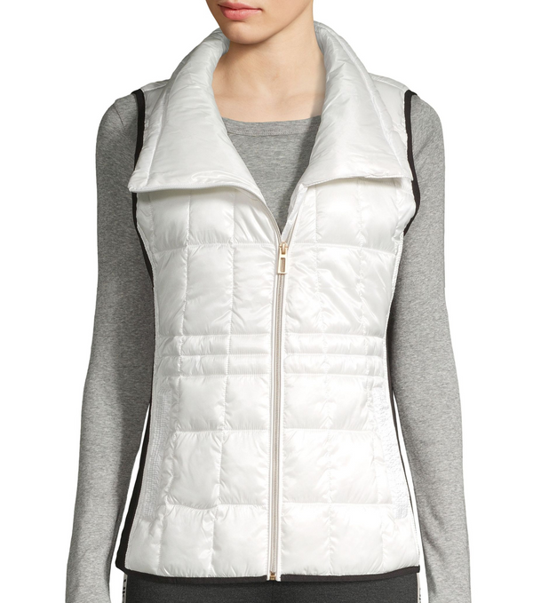 Chaleco Para Dama Calvin Klein Asymmetrical-Zip Puffer - illa Elite Fashion Suppliers