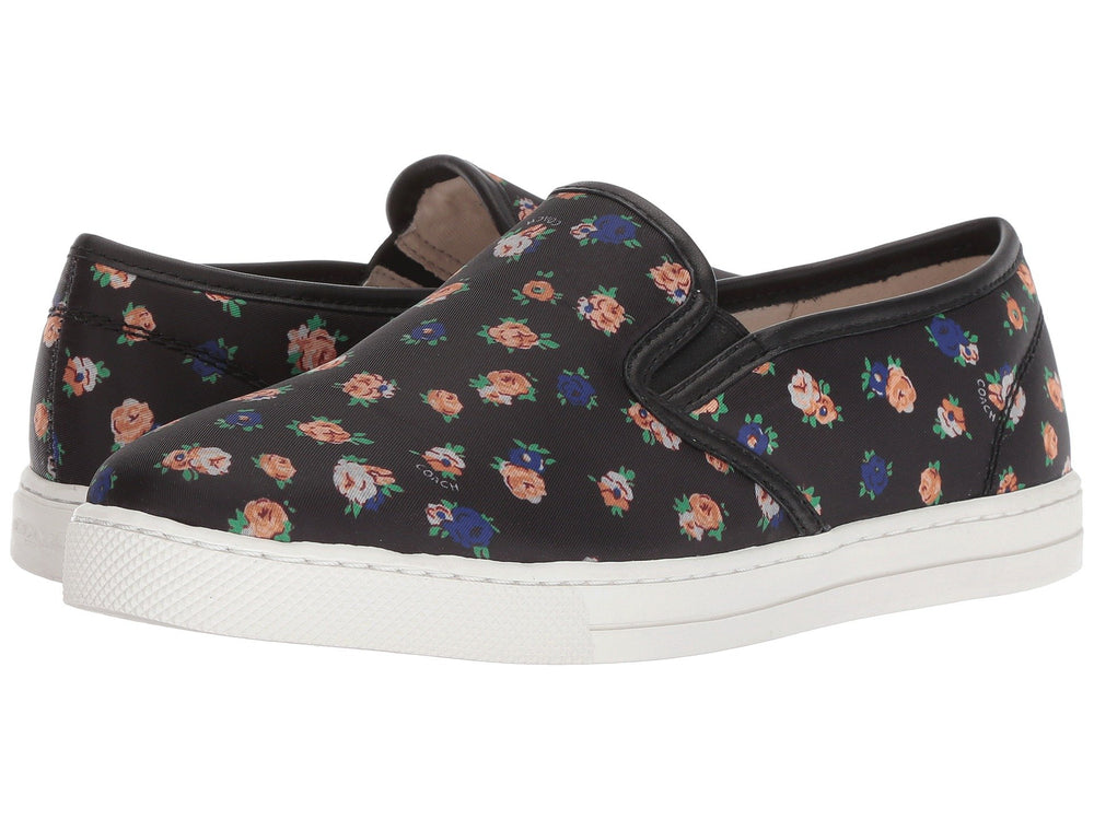 Tennis Coach Slip On Flores 25.5 mx