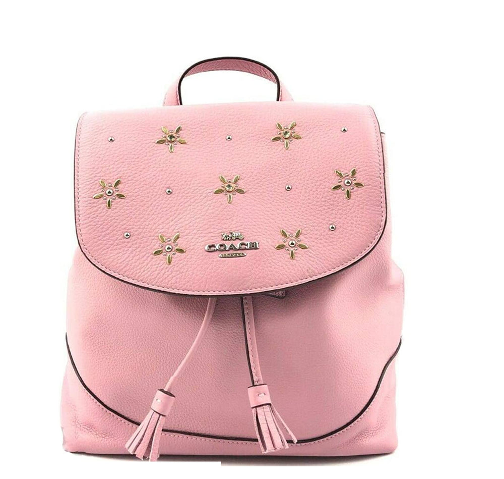 Mochila Coach Elle Backpack With Allover Studs