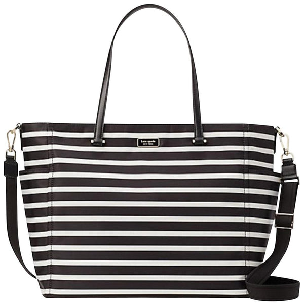 Pañalera Kate Spade Dawn Sailing Stripe Con Cambiador - illa Elite Fashion Suppliers