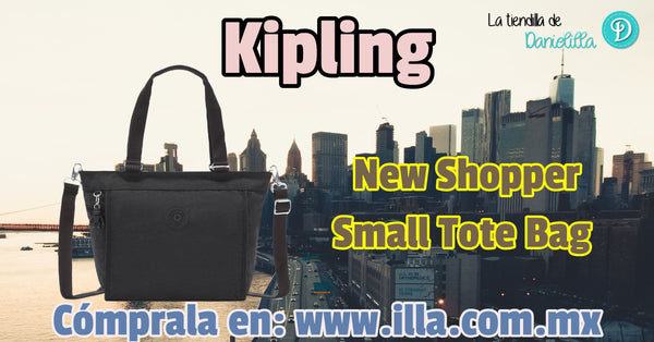 Bolsa Kipling New Shopper Small Tote Bag - Black Noir