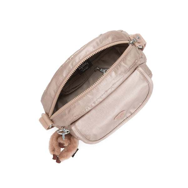 Bolsa Kipling Stelma Metallic Crossbody Bag