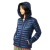 Chamarra Nautica Packable Iridescent Hooded Coat