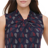 Blusa Tommy Hilfiger Dama Knotted-Neckline Top - illa Elite Fashion Suppliers
