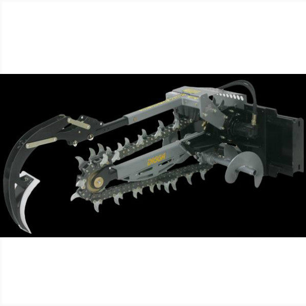 "Digga 1200mm Dig Hydrive Trencher - 2"" Chain"