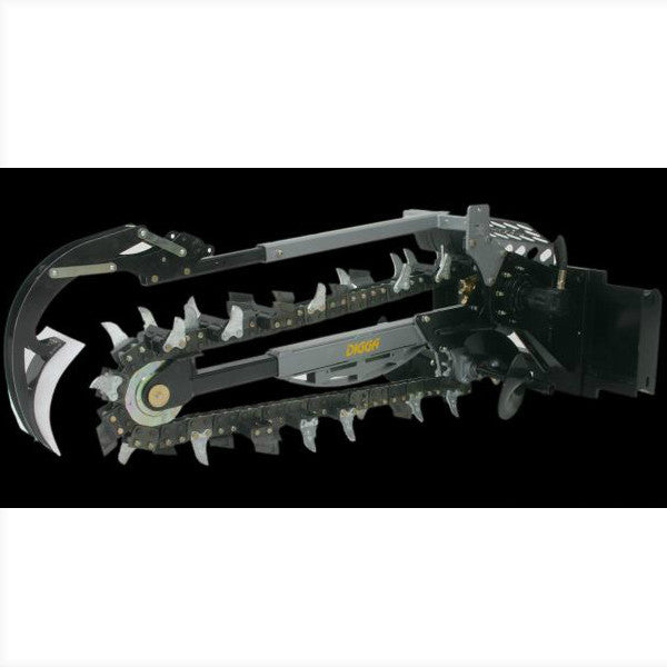 "Digga 1200mm Dig Hydrive XD Trencher - 2"" Chain"