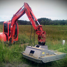 Digga 1250mm Wide Slasher - Suit Excavators up to 5T