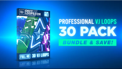 VJ Loop Bundle - 30 Pack - Professional VJ Background Loops [EnvyLoops.com]