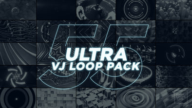 ULTRA 55 VJ Loop Pack with FREE Shades! - Professional VJ Background Loops [EnvyLoops.com]