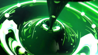VJ Loop - Green Fluid - Professional VJ Background Loops [EnvyLoops.com]
