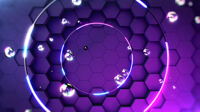VJ Loop - Hex Wall - Professional VJ Background Loops [EnvyLoops.com]