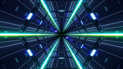 VJ Loop - Future Tunnel - Professional VJ Background Loops [EnvyLoops.com]