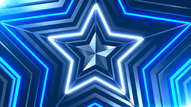VJ Loop - Party Star V2 - Professional VJ Background Loops [EnvyLoops.com]
