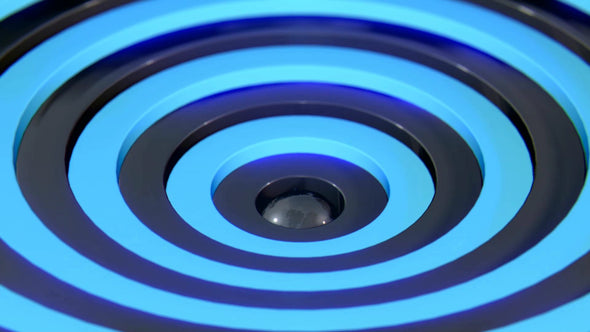 VJ Loop - Blue Rings - Professional VJ Background Loops [EnvyLoops.com]