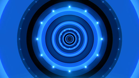 VJ Loop - Blue Hipno Tunnel - Professional VJ Background Loops [EnvyLoops.com]