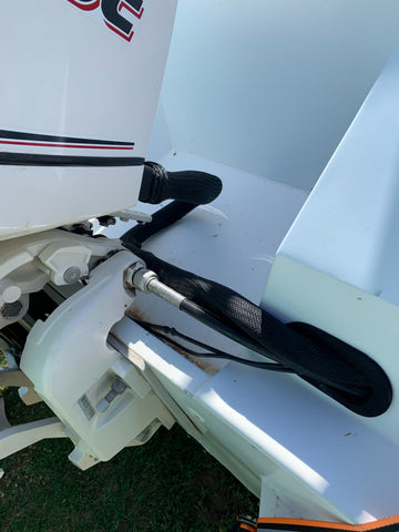 Evinrude Outboard Steering
