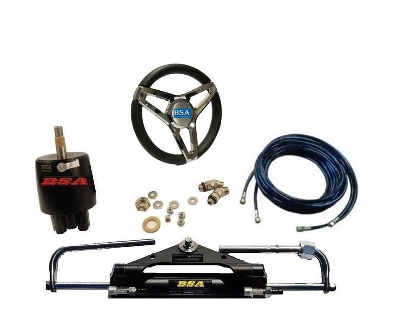Yamaha Hydraulic Outboard Motor Steering Kit up to 150HP - Boat Steering Australia