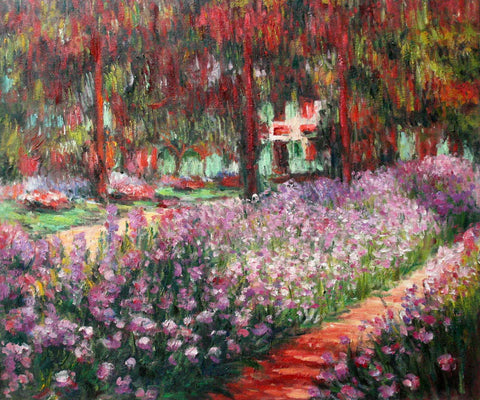 MC04-Irises in Monet's Garden