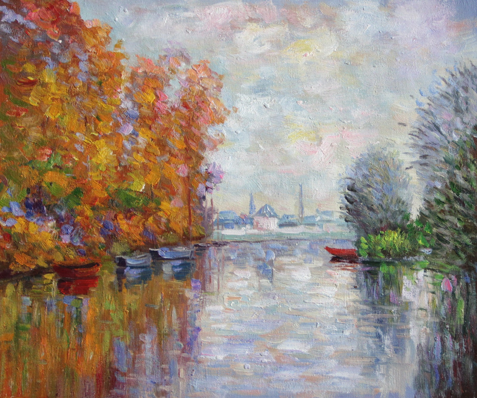 MC12-Autumn on the Seine at Argenteuil