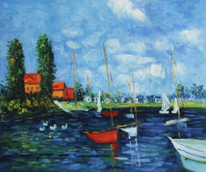 MC015-Claude Monet - Argenteuil