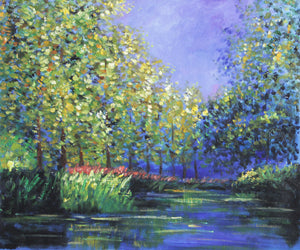 MC028-Monet - Bend in the Epte River