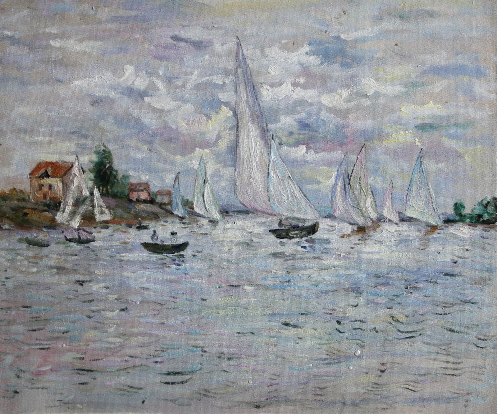MC056-Monet - Regates at Argenteuil