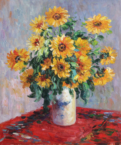 MC063-Monet - Sunflowers
