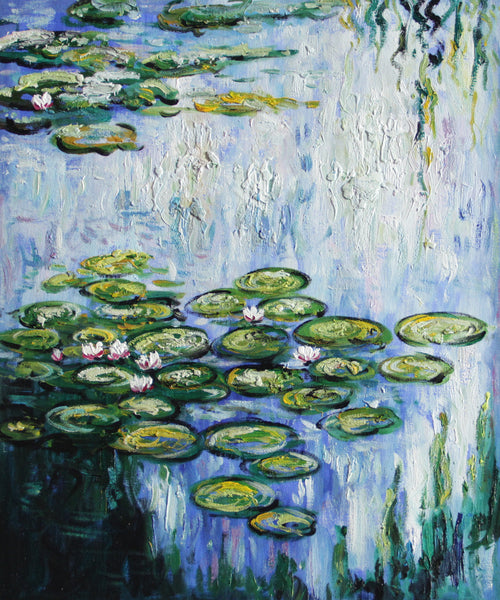 MC078-Water Lilies (vertical)