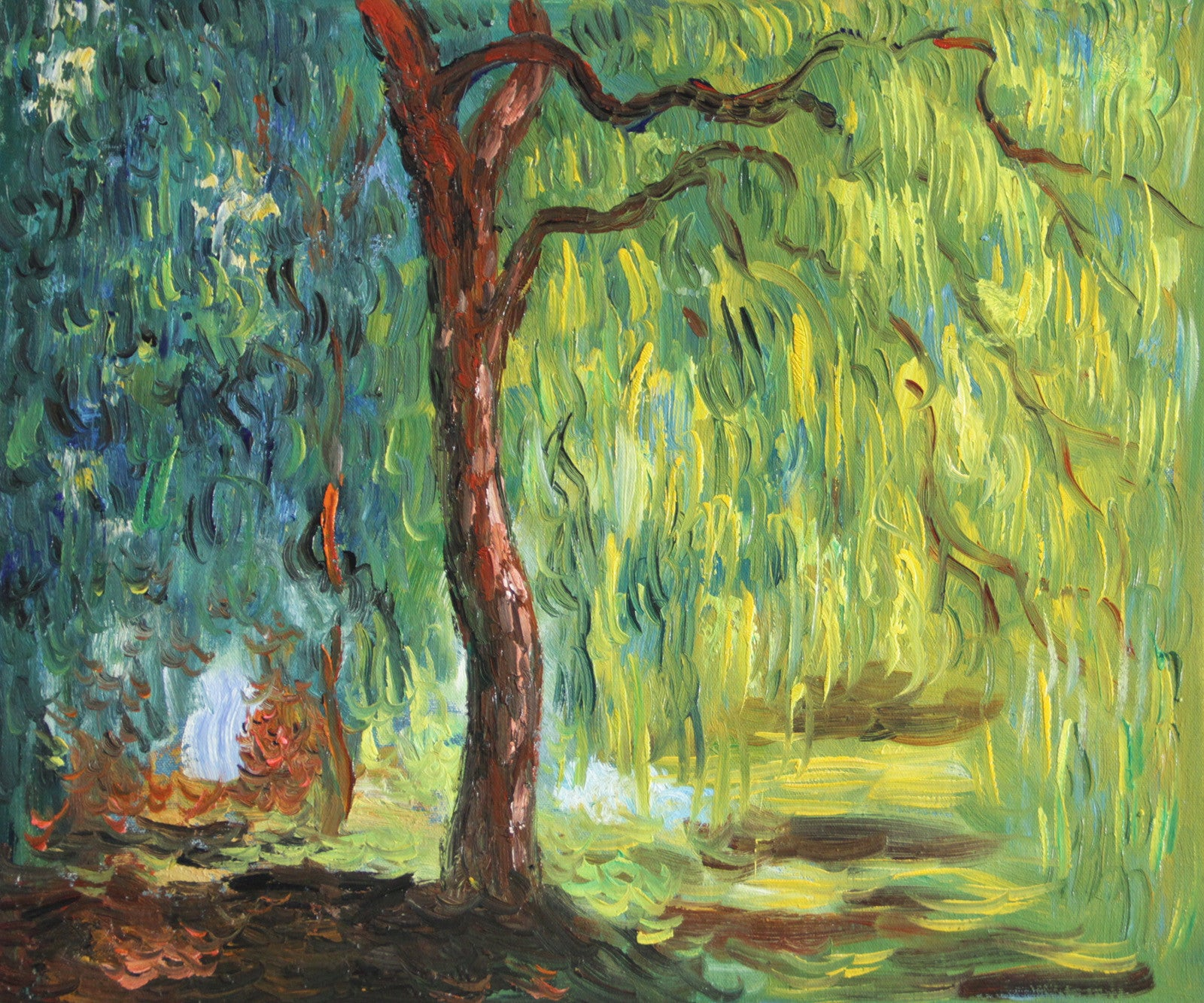 MC090-Monet - Weeping Willow