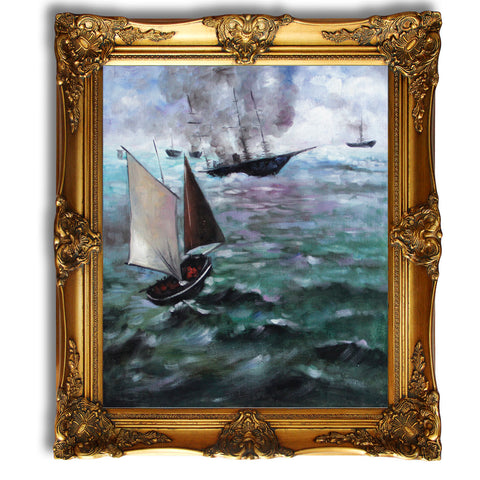 Wall Art Decor Edouard-Manet 20x24'' oil painting on canvas MN07